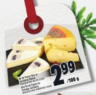 Ile De France Brie Or Jarlsberg Cheese