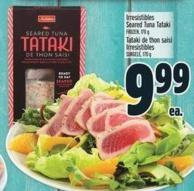 Irresistibles Seared Tuna Tataki