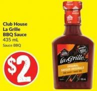 Club House La Grille Bbq Sauce 435 ml