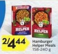 General Mills Hamburger Helper Meals - 40 Air Miles
