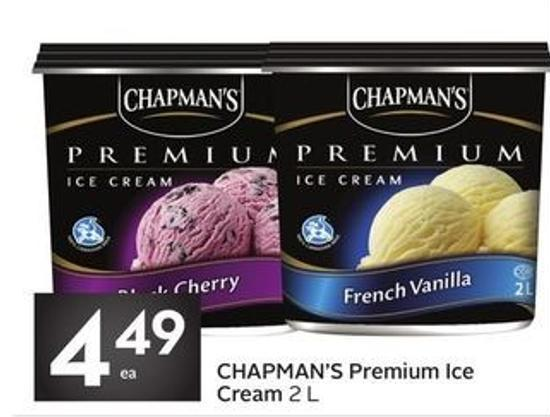 Chapman's Premium Ice Cream