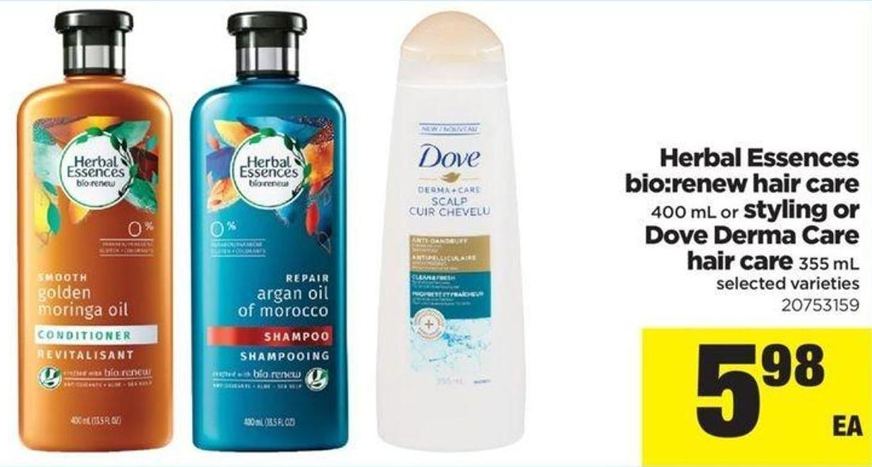 Herbal Essences Hair Care Products On Sale Dove Conditioner Gowth 160 Ml