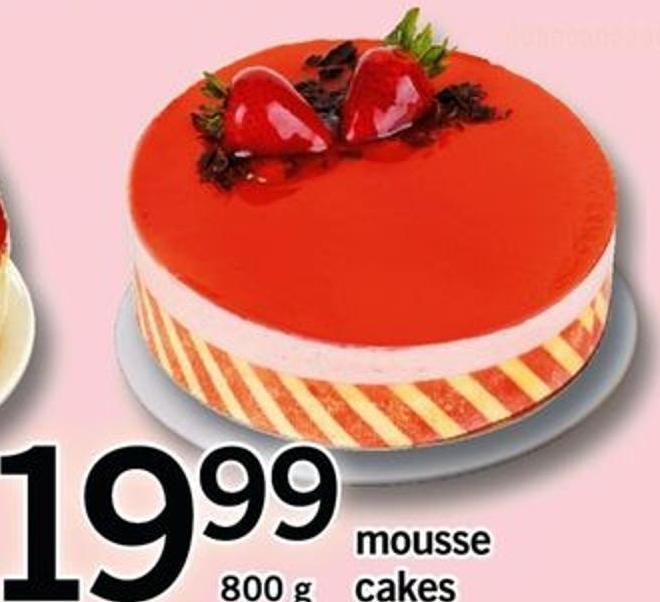 Mousse Cakes.