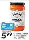 Stefano Pasta or Pizza Sauce - 10 Air Miles Bonus Miles