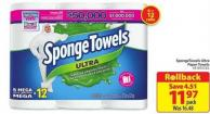 Spongetowels Ultra Paper Towels