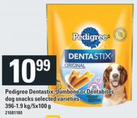 Pedigree Dentastix - Jumbone Or Dentabites Dog Snacks - 396-1.9 Kg/5x100 g