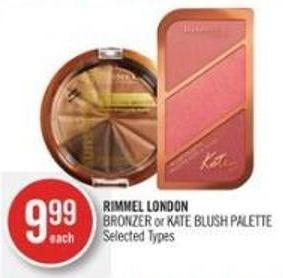 Rimmel London Bronzer or Kate Blush Palette