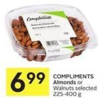 Compliments Almonds or Walnuts