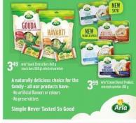 Arla Snack Cheese Bars - 8x21 G Snack Bars - 168 G