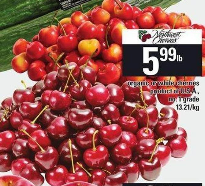 Organic Or White Cherries