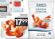 Toppits Jumbo Cooked Shrimp