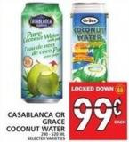 Casablanca Or Grace Coconut Water 290 - 520 Ml