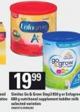 Similac Go & Grow Step3 850 g Or Enfagrow 680 g Nutritional Supplement Toddler Milk