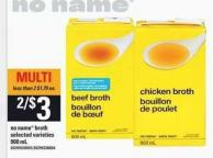 No Name Broth - 900 mL