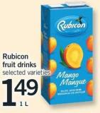 Rubicon Fruit Drinks 1 L