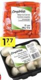 Compliments Whole White Mushrooms Product of Canada 227 g or Compliments Baby-cut Carrots Product of USA 340 g