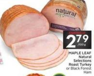 Maple Leaf Natural Selections Roast Turkey