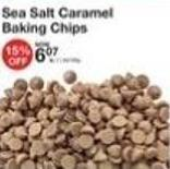 Sea Salt Caramel Baking Chips