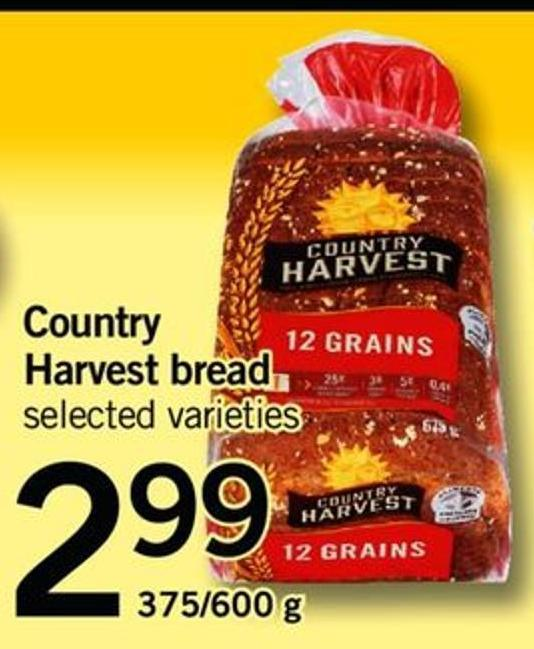 Country Harvest Bread - 375/600 G