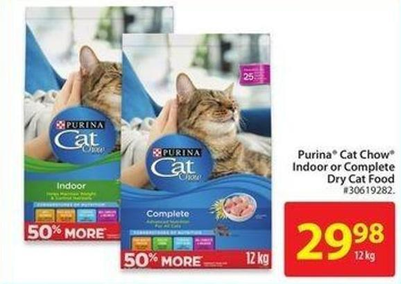 Purina Cat Chow Indoor or Complete Dry Cat Food