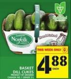 Basket Dill Cukes