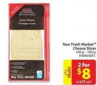 Your Fresh Market Cheese Slices
