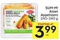 Sum-m! Asian Appetizers 240-340 g