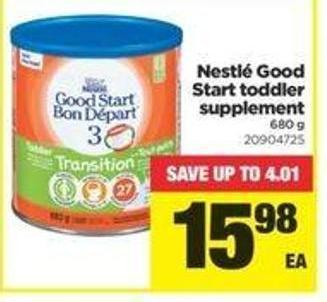 Nestlé Good Start Toddler Supplement - 680 G