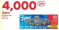 Ziploc 44 Piece Set