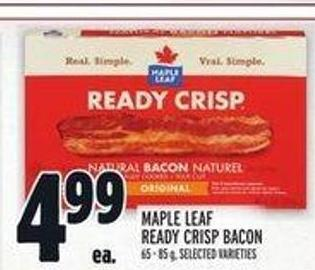 Maple Leaf Ready Crisp Bacon