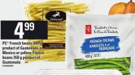PC French Beans 400 G Or Yellow French Beans 350 G