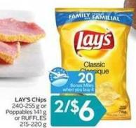 Lay's Chips - 20 Air Miles Bonus Miles