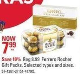 Ferrero Rocher Gift Packs