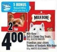 Milk-bone Soft & Chewy Dog Treats - 113 g
