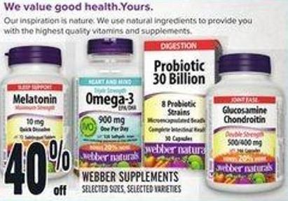 Webber Supplements