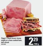 Ziggy's Black Forest - Honey Maple Or X-lean Cooked Ham