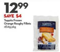 Toppits Frozen Orange Roughy Fillets