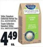 Tetley Signature Collection Herbal Tea 20 Un. -