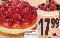 Front Street Bakery Fancy Fruit Boston Custard Cake 1200 g