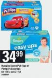 Huggies Econo Pull-ups Or Pampers Easy Ups - 82-112's