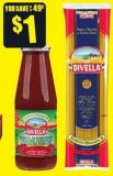 Divella Pasta 500 g or Passata 720 mL