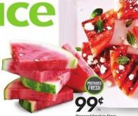 Watermelon Cuts or Slices Prepared Fresh In-store