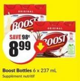 Boost Bottles 6 X 237 mL