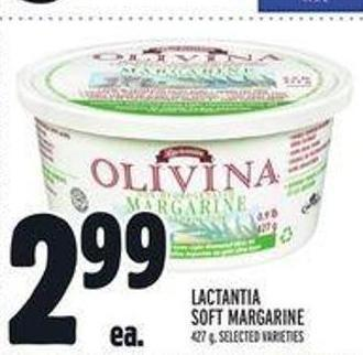 Lactantia Soft Margarine