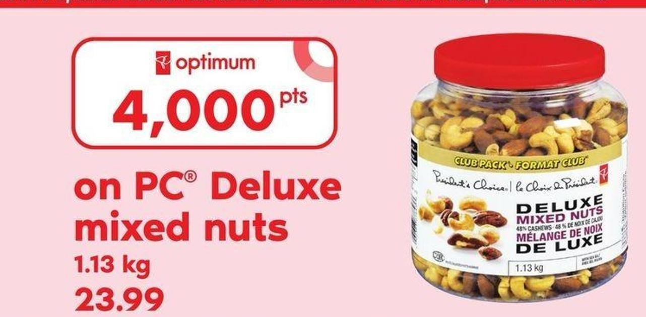 PC Deluxe Mixed Nuts