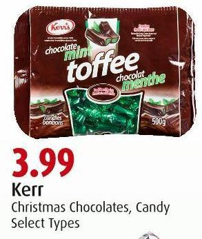 Kerr Christmas Chocolates - Candy