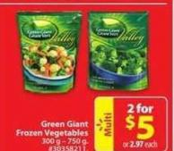 Green Giant Frozen Vegetable