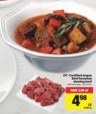 PC Certified Angus Beef Boneless Stewing Beef