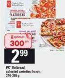 PC Flatbread - 340-395 G