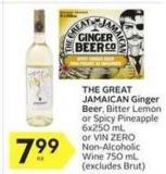 The Great Jamaican Ginger Beer